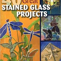 Book Review- 40 Great Stained Glass Projects