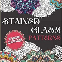Book Review- Stained Glass Patterns: An Inspirational Coloring Book