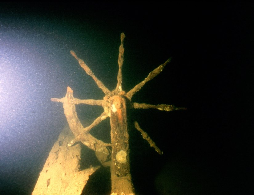 Image of O.J. Walker's wheel