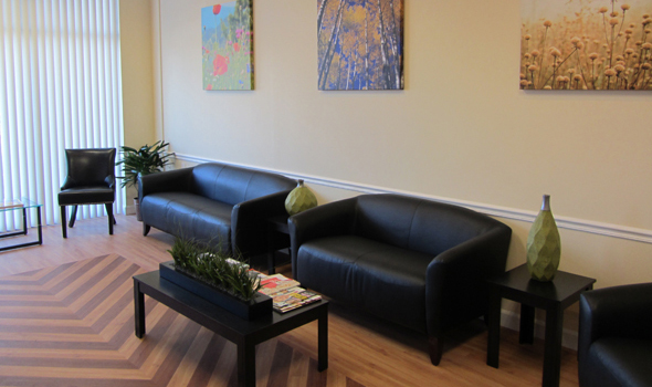 Glassboro Dentistry Office Lobby