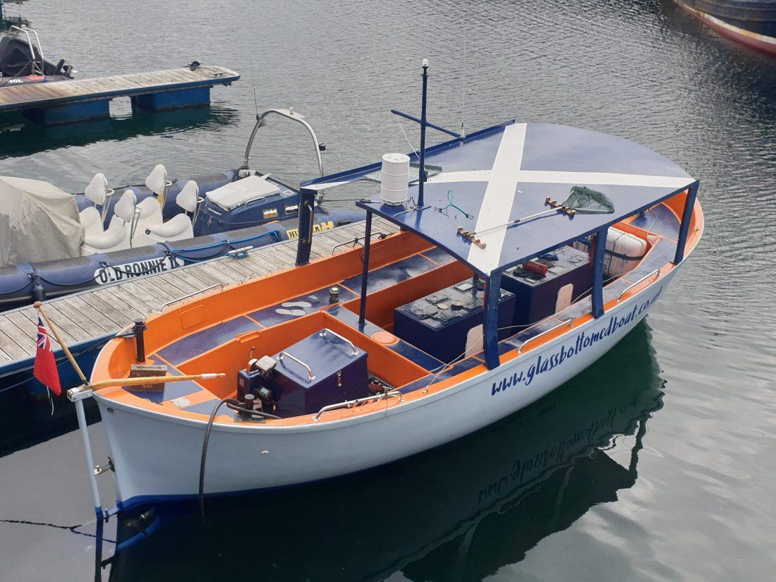 Alice - Gairloch Glass bottomed boat