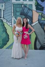 Shannon and her Maid-of-Honor/Niece Juliana Tarsha