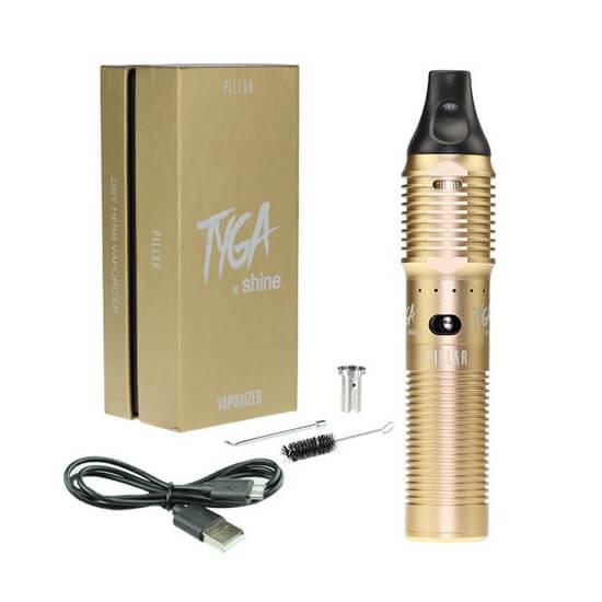 Atmos Tyga x Shine Gold Vaporizer Kit