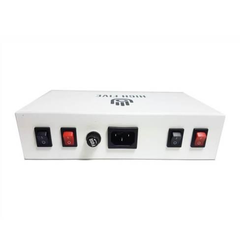 High5 Dual LCD Enail White Back