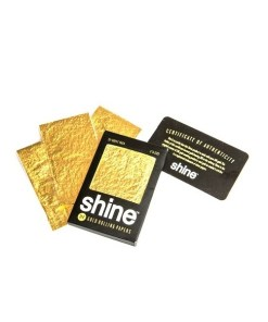 Shine 24K Gold Rolling Papers 12-Pack 2