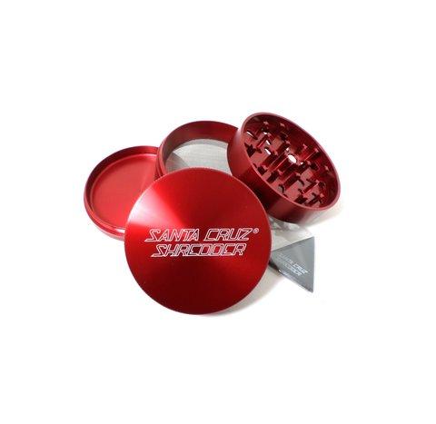 Santa Cruz Shredder 4-Piece Large Red 2