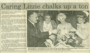 evening gazette cutting