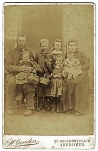 james & eliz gartly & five children