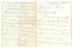 letter from 54 General Hospital