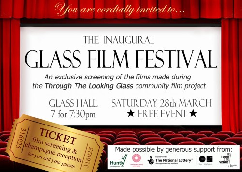 Glass film fest invite