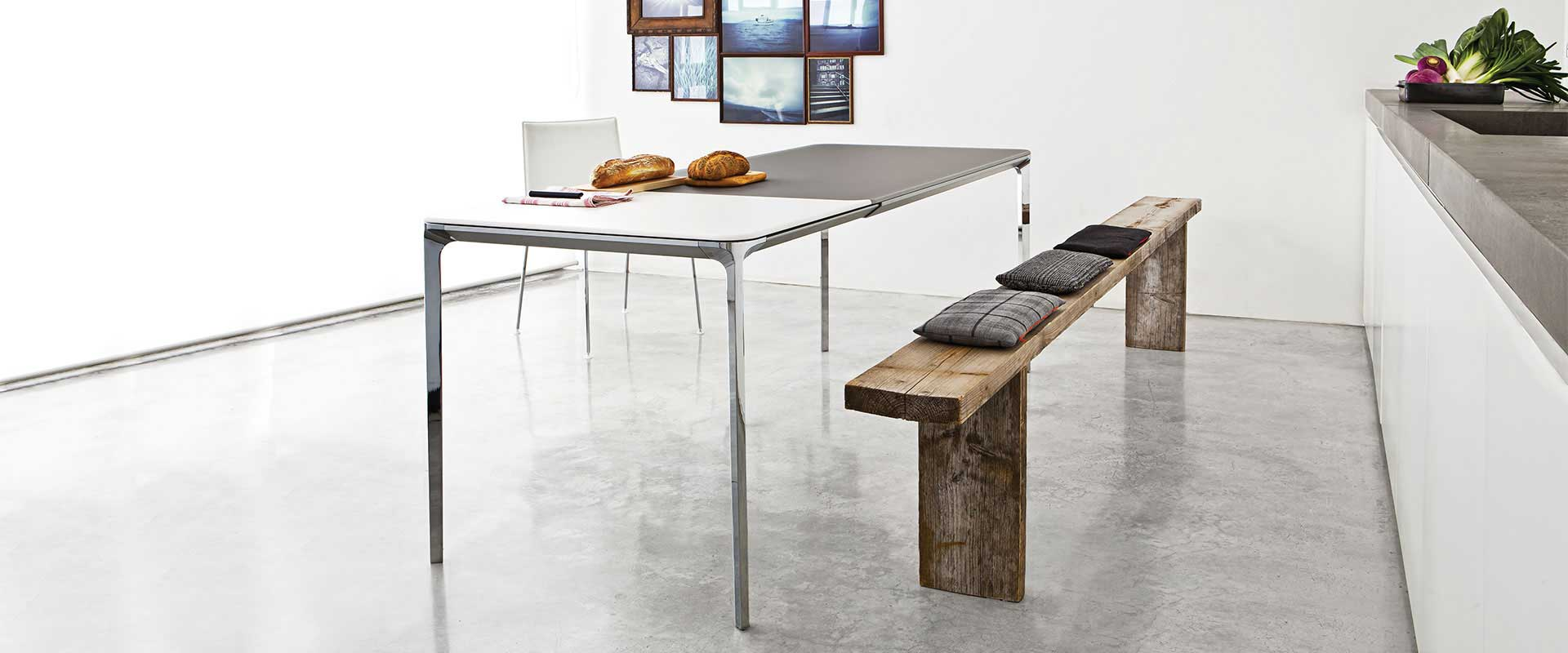 metal and glass furniture by sovet italia
