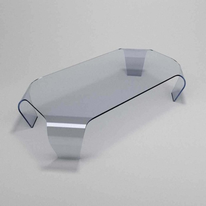 glass coffee table apollo