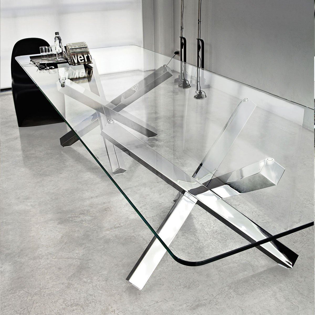klarity  glass furniture shop  glass dining tables  wood  glass diningtables  aikido large glass dining table. aikido large glass dining table  klarity glass furniture