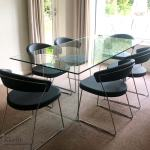 Savoy Glass Dining Table Klarity Glass Furniture