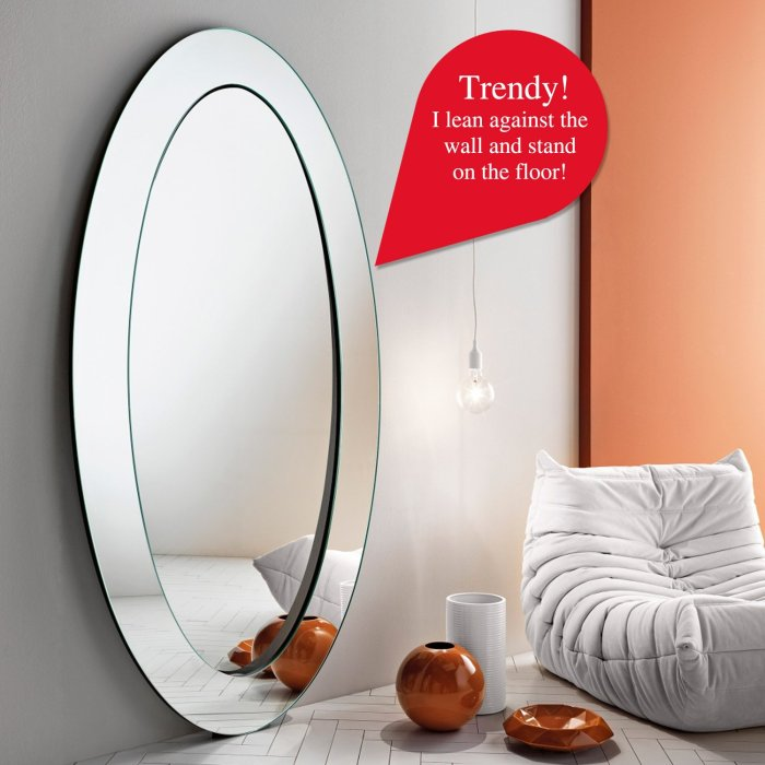 gerundio leaning mirror by tonelli
