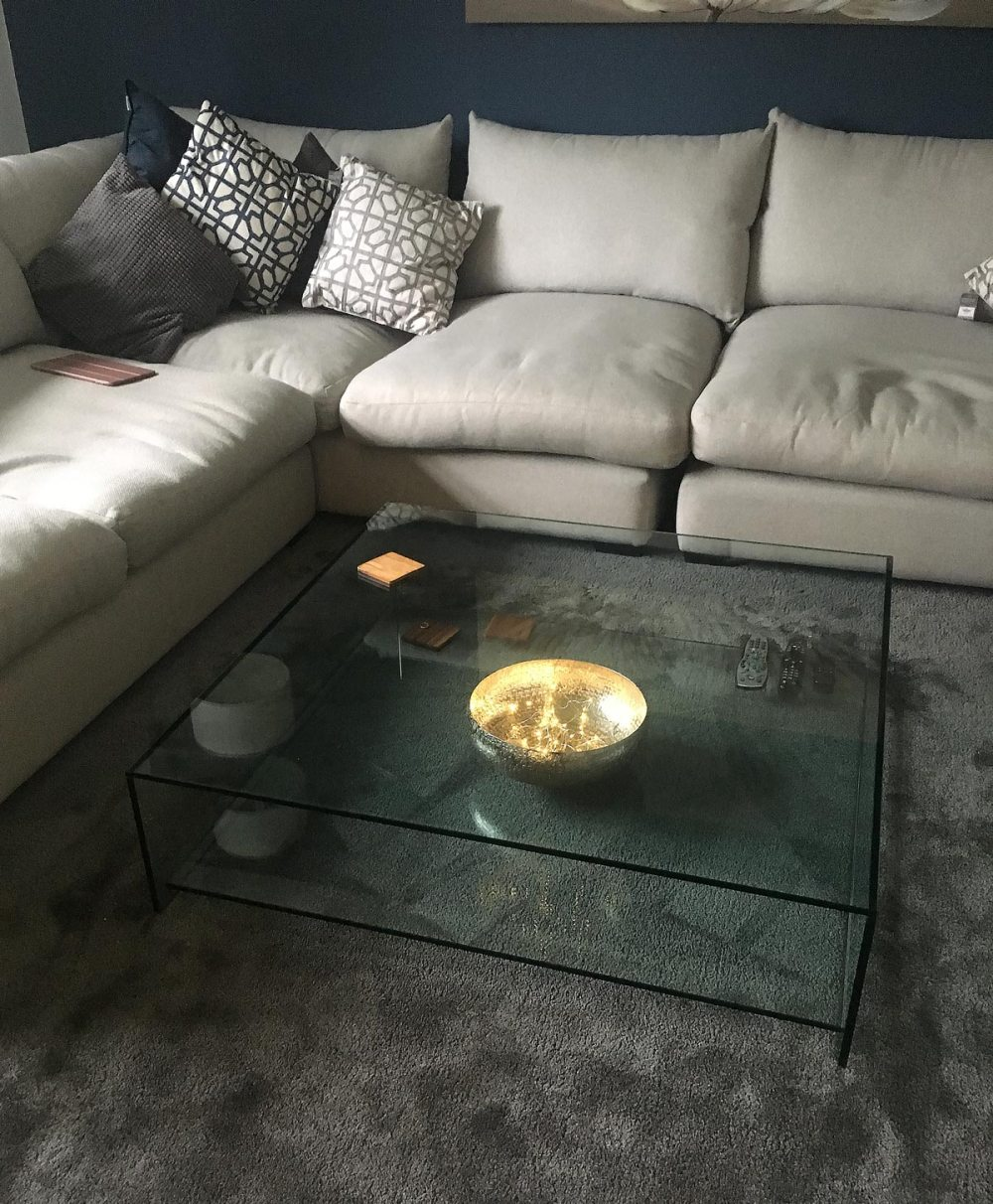 Judd glass Coffee Table