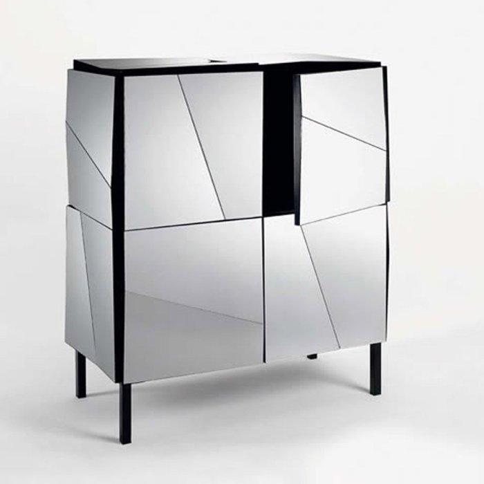 Psiche mirrored cabinet