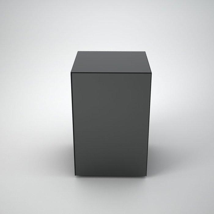 grey mirror coffee table