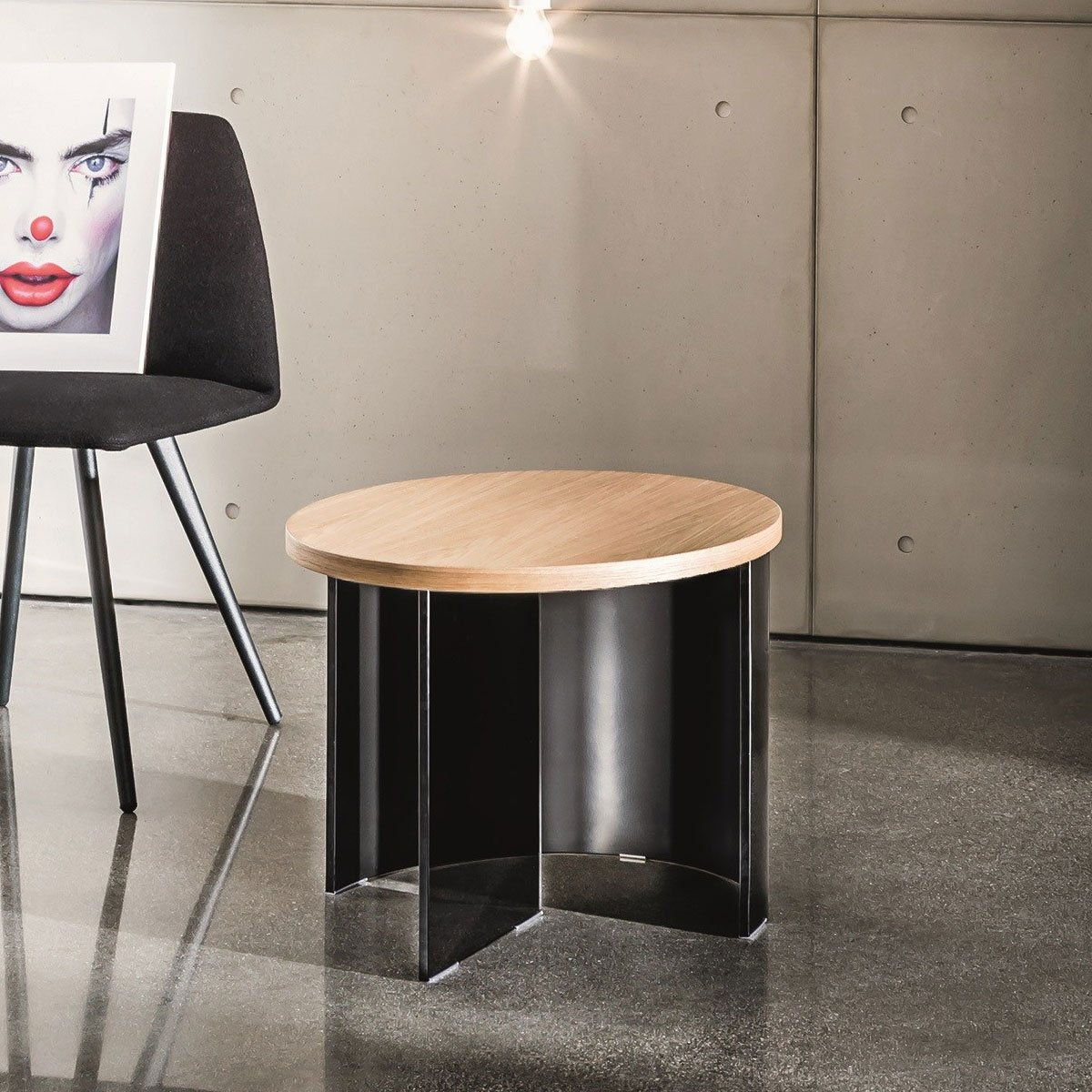 Bespoke Glass Coffee Tables: Regolo Round Glass Coffee Table