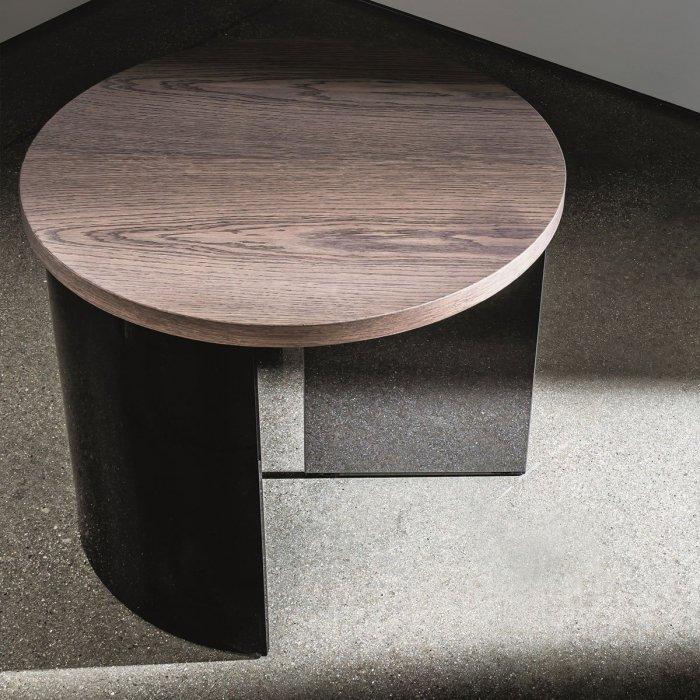 Regolo Round Glass Coffee Table