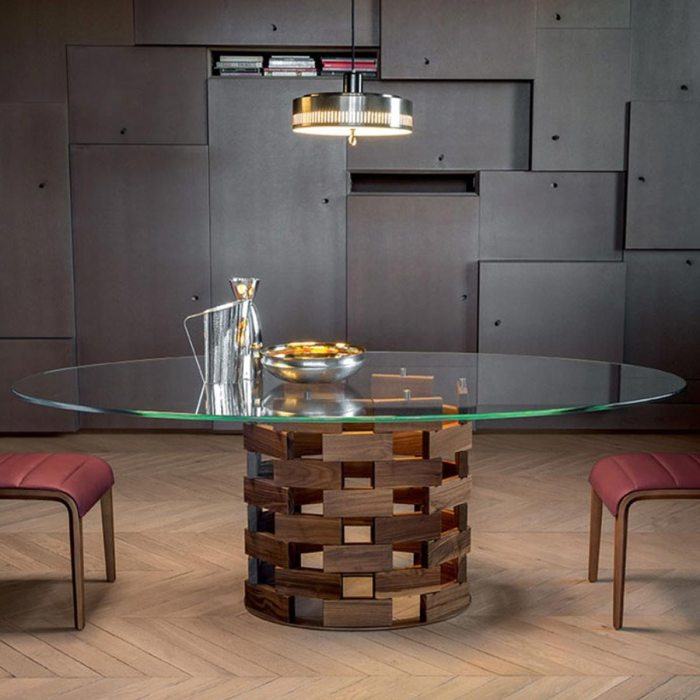Collosseo dining table - tonic casa
