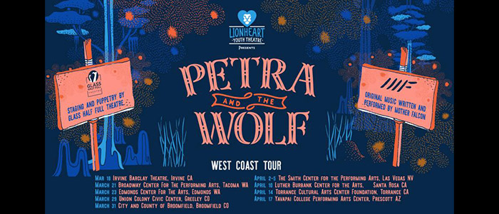 Petra and the Wolf - West Coast Tour