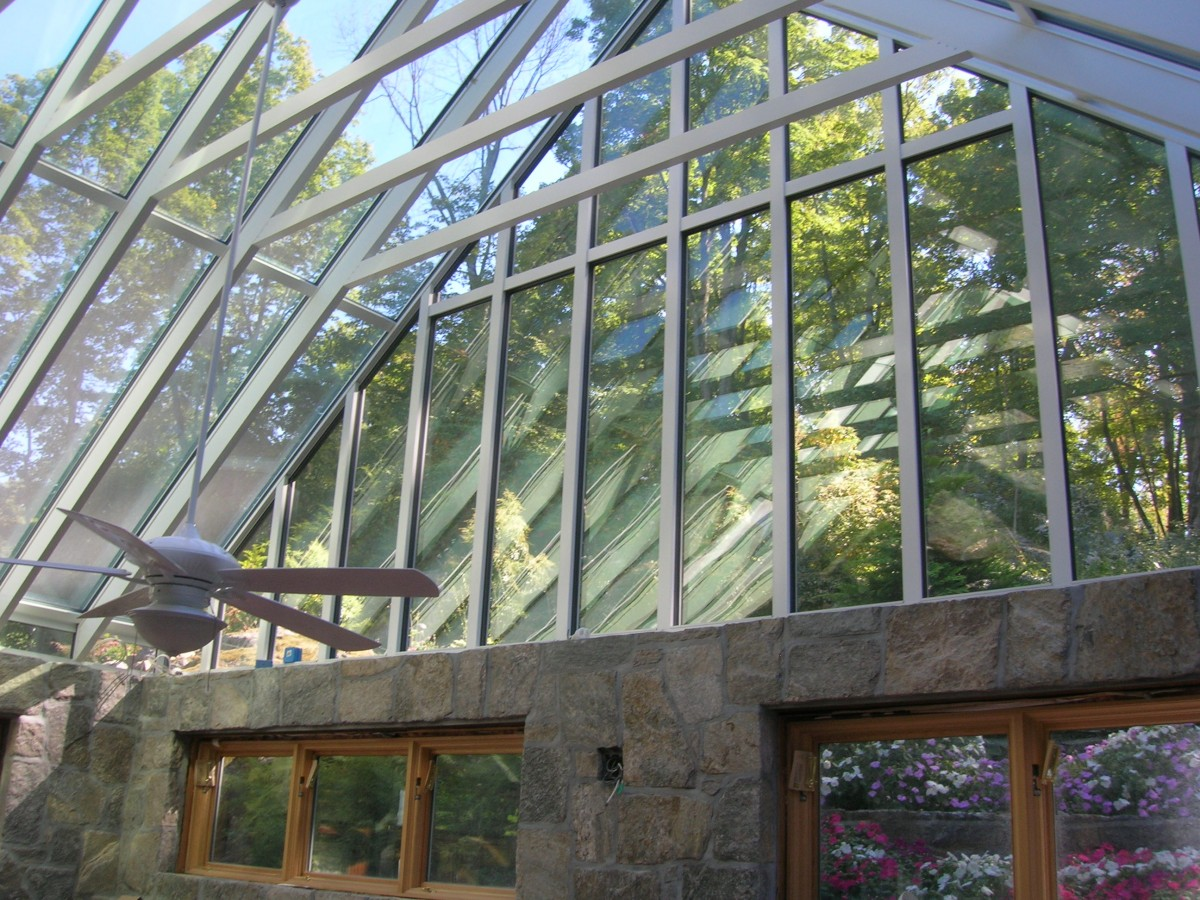 Gable Conservatory Roof System Glass House LLC