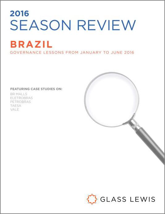 2016 Brazil Proxy Season Review - Glass Lewis