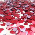 friday favorites heart confetti