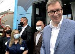 "Građani Železnika: ""Boljeg od Vučića nema, to je Bog stvorio!"""