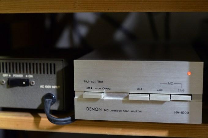 MCヘッドアンプ DENON HA-1000