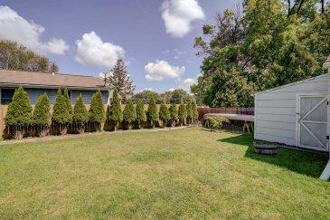 Amazing fenced yard