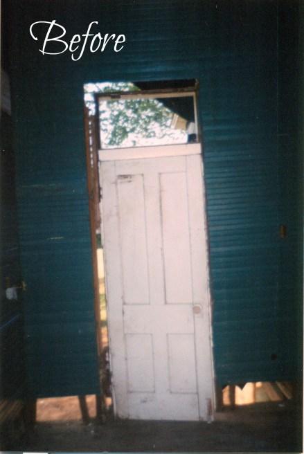 Old Kitchen Door