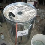 Frit maker for Recycled Glass