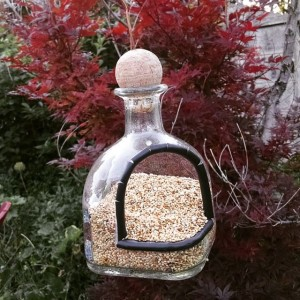 Recycled Patron Bottle