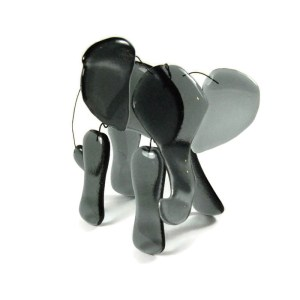Fused Glass Elephant