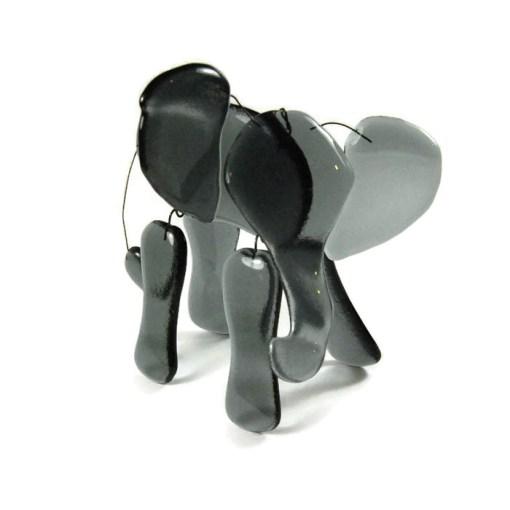 Fused Glass Elephant