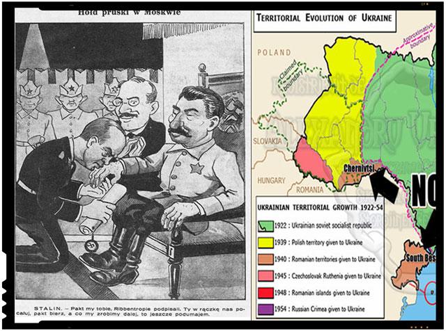Se recunoaste oficial Ucraina ne ocupa samavolnic teritoriul national: Bucovina de Nord, Herta si Bugeacul, foto: facebook.com/alexandru.ursubukowina