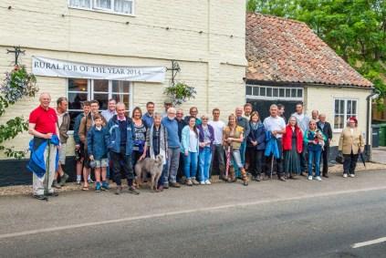 D-Day Village Walk 2012
