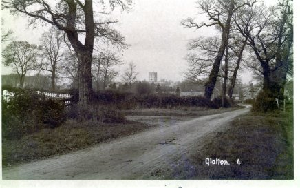 Sawtry Road into Glatton.