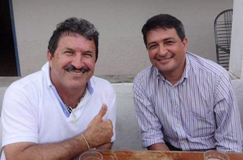 Prefeito Kerginaldo e o vice Grimalde - Foto: Divulgação