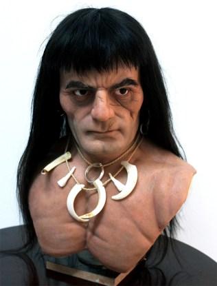 silicone bust - Conan