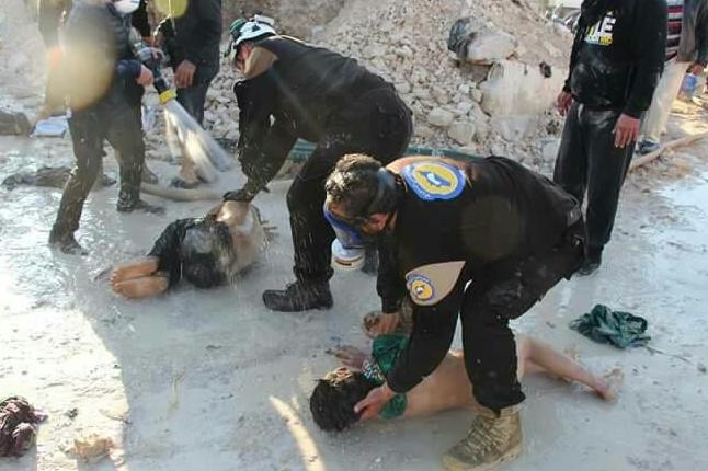 Наслідки хімічної атаки в Сирії