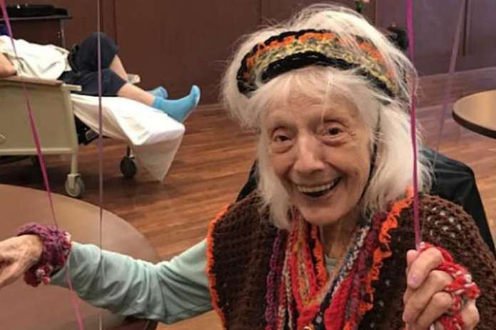 Angelina Friedman called Queen of Life - Coronavirus wins 101-year-old woman in US