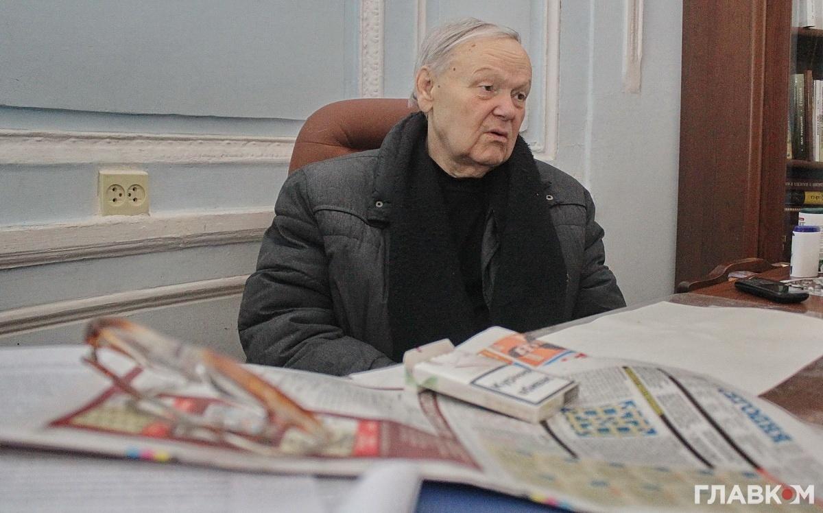 Поет Борис Олійник (Фото: Станіслав Груздєв, «Главком»)
