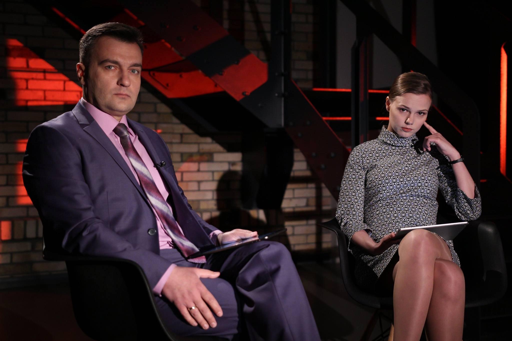 Автори фільму «Вбивство Павла» Анна Бабінець та Дмитро Гнап