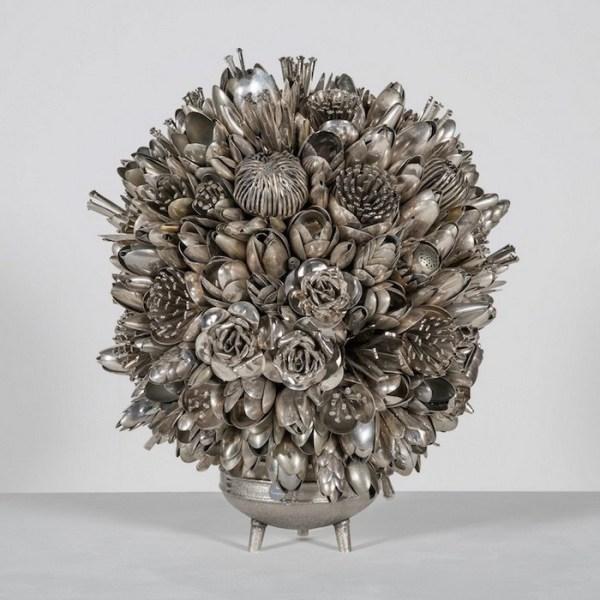 Фото: 3 - Букеты из серебряных вилок: фантастические ...