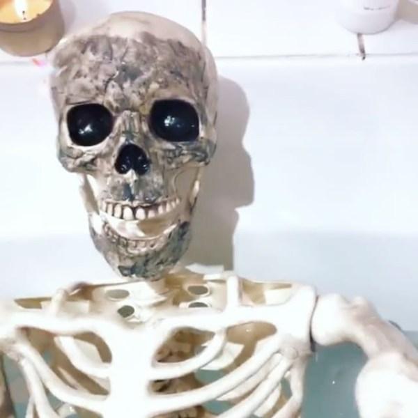 Фото: 2 - Скелет завел профиль в Instagram и подшучивает ...