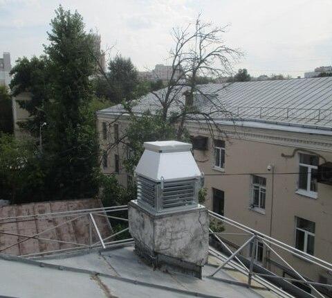 Монтаж системы кондиционирования и вентиляции в 4-х этажном офисном здании по ул. Бахрушина