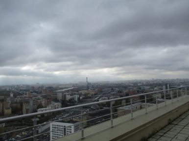 Монтаж. Вид на Москву